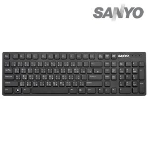 SANYO三洋USB巧克力鍵盤(SYKB-03U)