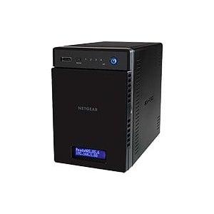 Netgear RN104 4Bay 雲端網路儲存伺服器 + Seagate NAS硬碟 送 PTV3000 無線影音傳輸器套餐組 16TB版