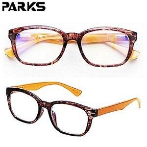 PARKS 專業3C濾藍光眼鏡經典思想系列-棕BL1311-BR