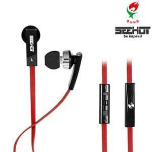 SeeHot 嘻哈部落可調音量入耳式耳機麥克風