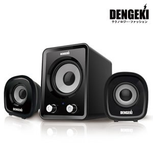DENGEKI電擊2.1聲道USB多媒體喇叭  (SK-827)