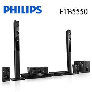 PHILIPS 飛利浦 Miracast/NFC/3D藍光劇院 HTB5550