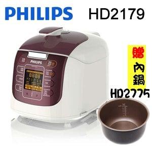 飛利浦 PHILIPS <BR>新一代電子智慧萬用鍋 HD2179