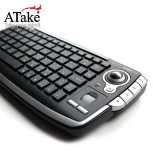ATake - Polar 2.4G無線軌跡球鍵盤 PTK-300 ★買就送,三合一清潔組