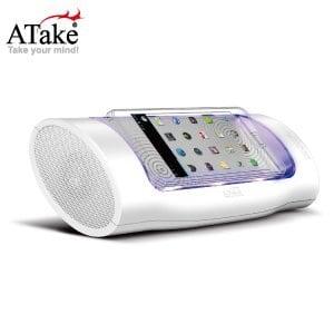 ATake - 音樂磁場感應式喇叭 - 白色