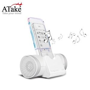 ATake - 傳音行者感應式喇叭 - 白色