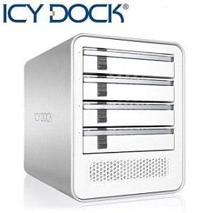 ICY DOCK四層式USB 3.0 & eSATA 硬碟外接盒-MB561U3S-4S R1