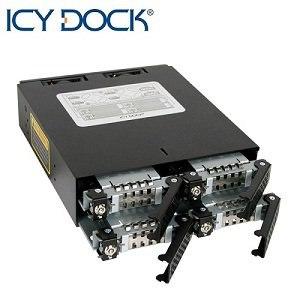 ICY DOCK 2.5吋SATA SAS硬碟抽取模組-MB994SK-1B