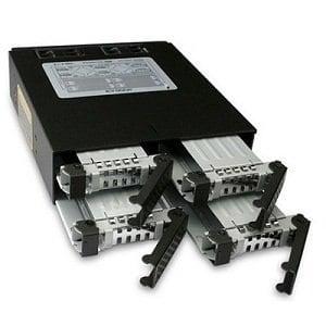 ICY DOCK 2.5吋SATA  SAS 硬碟抽取模組-MB994SP-4S