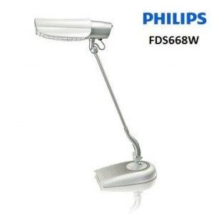 PHILIPS飛利浦鉑光防眩檯燈(黑/白)二色 FDS668