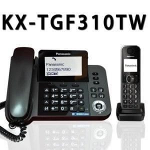 【國際牌Panasonic】KX-TGF310 子母雙機數位無線電話