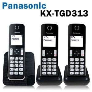 【Panasonic 國際牌】KX-TGD313 中文顯示 DECT數位無線電話