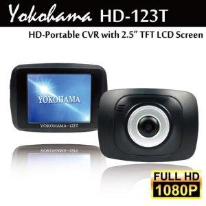 【YOKOHAMA】HD-123T Full HD 高清1080P夜視廣角行車記錄器 (加贈8G記憶卡)