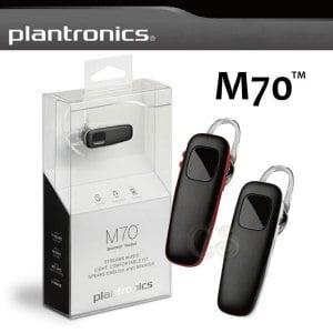 【Plantronics 繽特力】M70 中文語音 雙待機 立體聲藍牙耳機