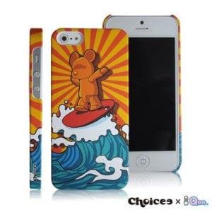 Choicee x Qee iPhone5 保護殼-陽光衝浪 QEE
