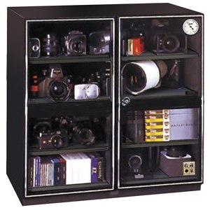 收藏家左右雙門電子防潮箱 AXL-250
