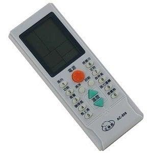 RC-LPT6A北極熊系列冷氣萬用遙控器(758合一)