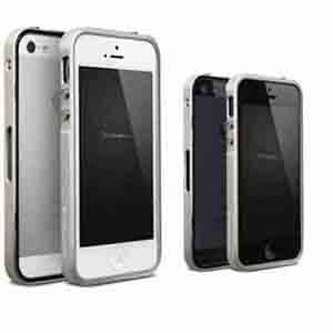 4thdesign iPhone 5 T:type 3系列 無螺絲鋁合金保護框-銀