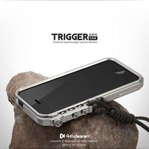 4thdesign iPhone 5 TRIGGER系列板機風格鋁合金保護框