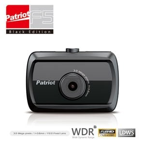 愛國者F5 行車記錄器 車道偏移 前車預警 WDR智慧停車監控(超值送16G SD卡+G-MOUSE+愛國者帽子+HDMI線)