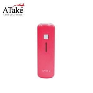 【ATake】iPolar IP-8014-PK - 2600mAh 行動電源 (日本三洋電芯) (粉紅)