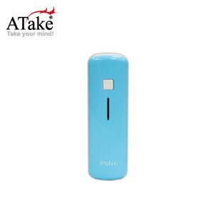 【ATake】iPolar IP-8014-BL - 2600mAh 行動電源 (日本三洋電芯) (藍)