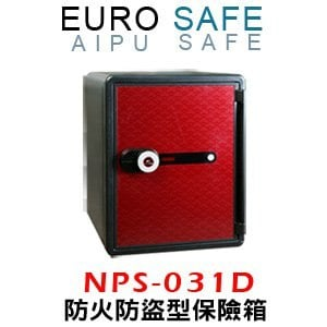 EURO SAFE<br>觸控防火型保險箱<br> NPS-031D