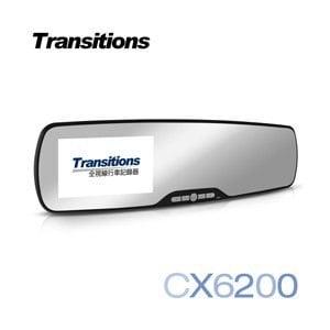 全視線CX6200 超廣角120度 防眩光 超輕薄後視鏡1080P行車記錄器(送16G microSDHC記憶卡)