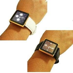 Awesome Eroica iPod nano義大利皮革錶帶