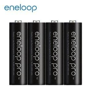 日本Panasonic國際牌eneloop高容量充電電池組 (內附3號4入)