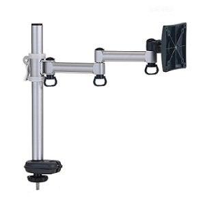 福利品》FOGIM穿桌懸臂式液晶螢幕支架(單螢幕)終身保固-TKLA-5082C4-S-A