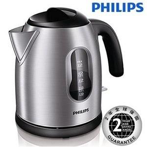 PHILIPS飛利浦 1.25L不鏽鋼快煮壺(HD4622)