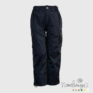 【namelessage】日本無名世代童款防水長褲(碳黑)