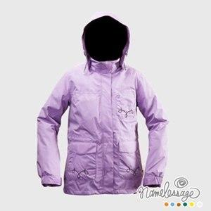 【namelessage】日本無名世代女款兩件式進口高級防水透氣保暖羽絨外套(二色)