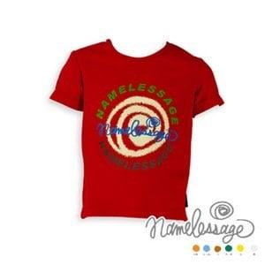 【namelessage】童款Outlast吸濕排汗T恤(紅)
