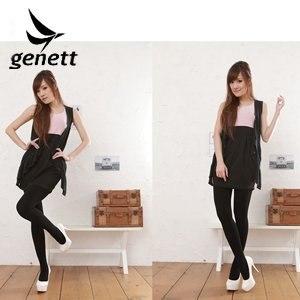 genett/新科紡-genett纖細裏刷毛sanitized抗菌褲襪socks002BK(黑)