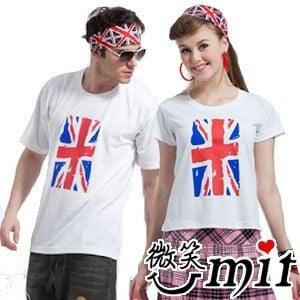 【微笑MIT】瑪蒂斯/盛銘-win cool排汗衣 英國國旗涼感衣 男女款短袖T恤 TJ1001(3色)
