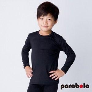 【3M-Parabela】發熱衣 兒童(黑色)