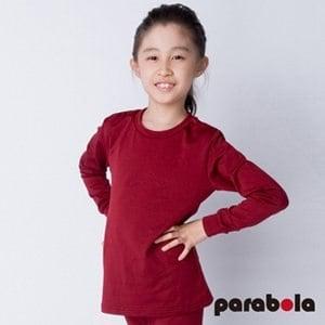 【3M-Parabela】發熱衣 兒童(紅色)