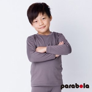 【3M-Parabela】發熱衣 兒童(灰色)