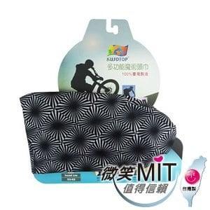 【微笑MIT】KUSOTOP-多功能百變魔術頭巾  HW081(黑)