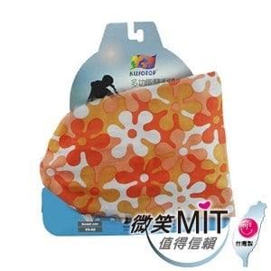 【微笑MIT】KUSOTOP-多功能百變魔術頭巾  HW085(橘)