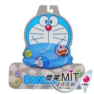 【微笑MIT】KUSOTOP-哆啦A夢台灣製限量版魔術頭巾 HA501