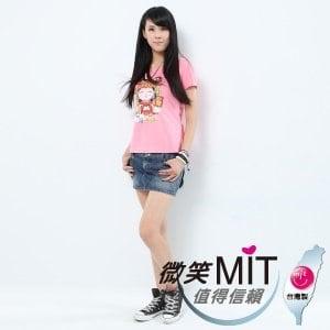 【微笑MIT】Shirley House/天悅-時尙文創藝術潮T 愛台灣系列 女款(Q版媽祖)
