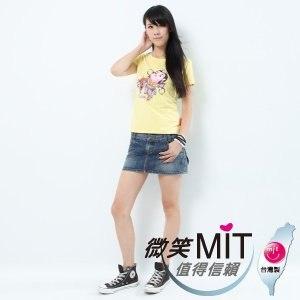 【微笑MIT】Shirley House/天悅-時尙文創藝術潮T 愛台灣系列 女款(Q版三太子)