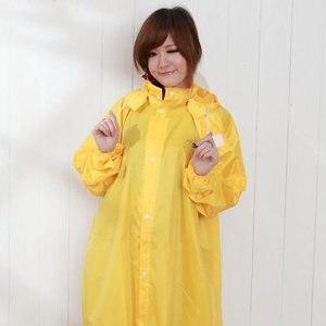 【BrightDay】風雨衣連身式 桑德史東前開款(清檸黃)★贈雨鞋套