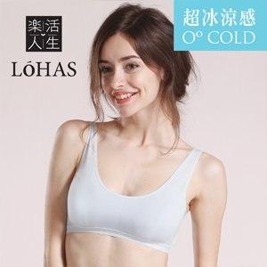 【Lohas】全新冰涼英國天絲棉 超涼爽型運動內衣(天空藍)