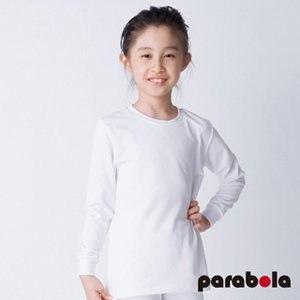 【3M-Parabela】發熱衣 兒童(白色)