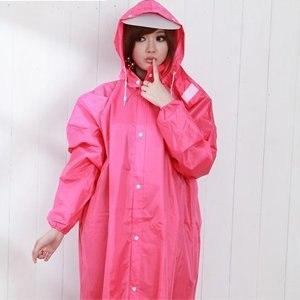 【BrightDay】風雨衣連身式 桑德史東前開款(蜜桃紅)★贈雨鞋套-2XL