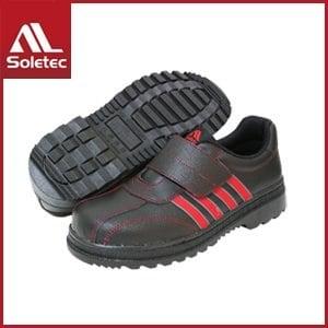 【Soletec】皮革製 超鐵安全工作鞋 C1069(黑)